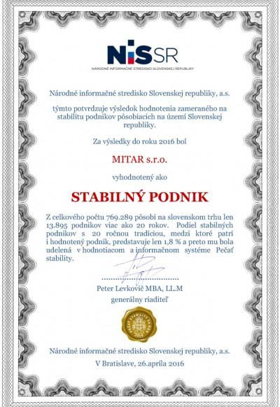 Protokol_Stabilita_2016_slovenčina_35688173_MITAR s.r.o.